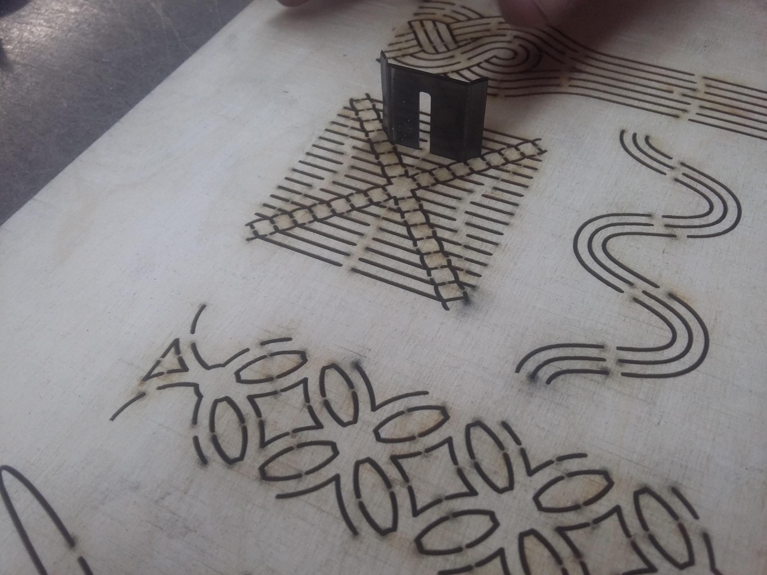 Encuny per a tèxtil
